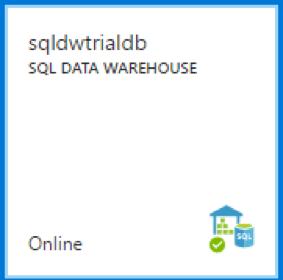 sql data warehouse trial