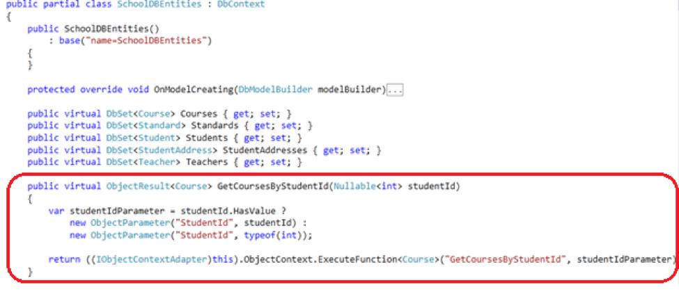 code, entity framework