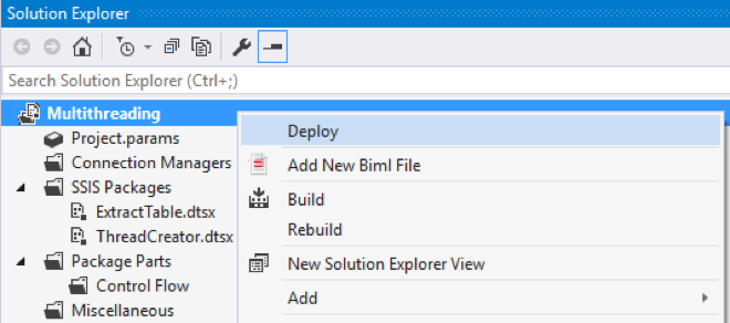 Multithreading an SSIS Package using C#