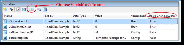 SQL Variable Columns