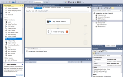 How to Deduplicate Data Using Fuzzy Logic in SSIS