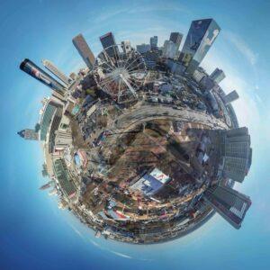 Mini Globe - Centenial Park - LIII - 002