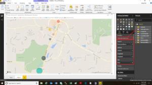 Power BI Map Feature