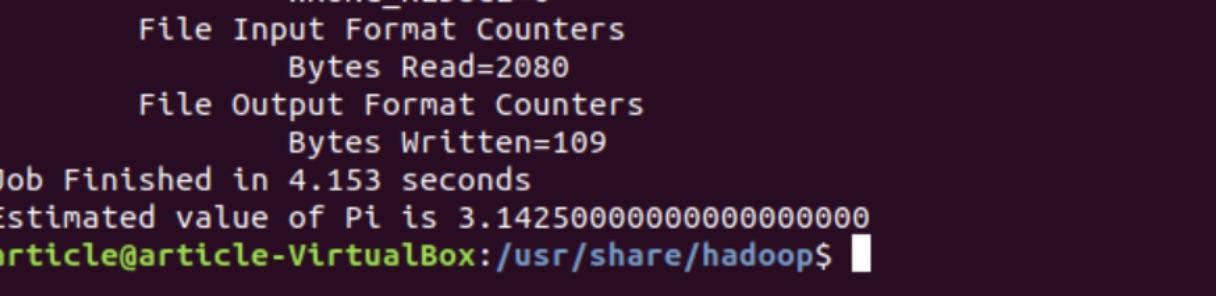 Hadoop Output 3